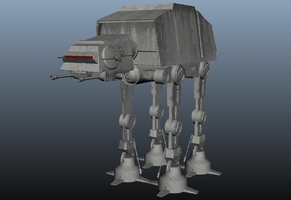 AT-AT Walker by Cllaud