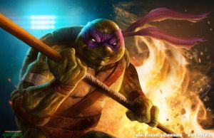 Donatello by pinkhavok