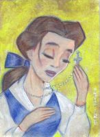 Belle in Prayer by LEXLOTHOR