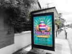 Free Easter Day Egg Hunt Flyer by imagingdc