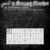 11 Scratch Brushes for PS7 by KeepWaiting