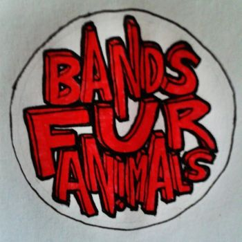 Bands Fur Animals pin design by armstrong2112