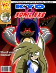Front cover Comic Kyo vs Sonic by MRSaeba-San