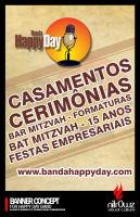 happyday band banner concept by doqu3z