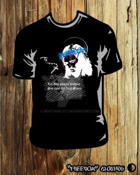 Jesus t-shirt by mustang-GT