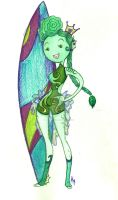 AT OC Fishy Surfer Princess by SankofaRida