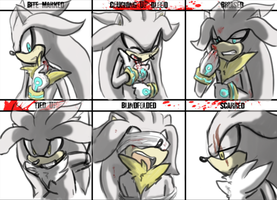 Character abuse meme Venice and Silver by UnknownSpy