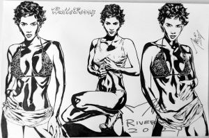 Halle Berry by Jedimike