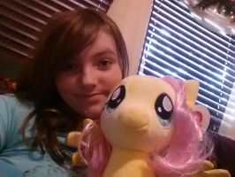 Me And Fluttershy 3 by Chibi-Rainbow