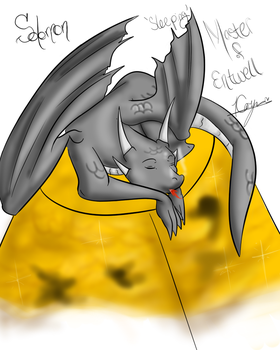 Solomon Sleeping Master of Entwell by catseathedevil