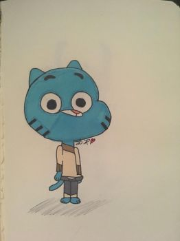 Amazing World Of Gumball (Gumball) by XxSlyCat