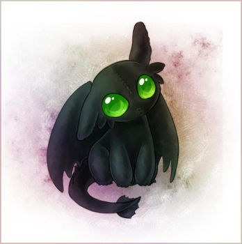 Baby Toothless by Zilleniose