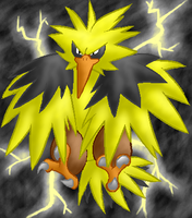Zapdos by LilWhiteMage
