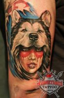 Ivan Bor Colour Realism by HammersmithTattoo