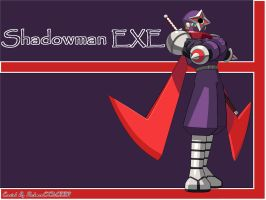 Shadowman EXE WP by RockmanCXDEZZR