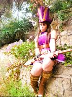Caitlyn Cosplay League of Legends Chile by RosseSinner
