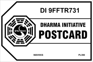 Dharma Initiative Postcard by CmdrKerner