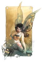 20's fairy with bug by RonnyVardy