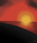 Sunset1. by DarkJazmin11