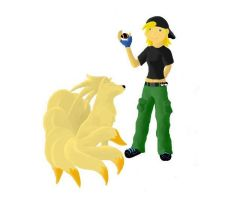 Me The Pokemon Trainer by moonbay-wolf