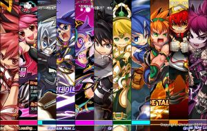 Grand Chase 11 characters by eliteninjaboyx45