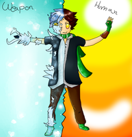 John the Weapon [Soul Eater Oc] by Sparkylovecupcakes