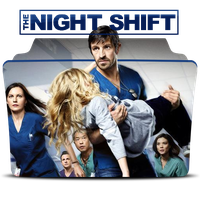 The Night Shift Season 2 Folder by anapaulalohan
