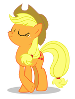 Applejack_Pose by ForsakenSharikan