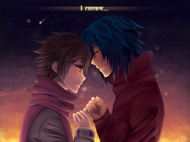 I promise... -MxV- by SouOrtiz