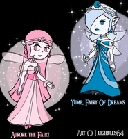 Fairy Redesigns by luigirules64