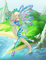 I can fly ... Swimming deep down under by ColorfullWinx