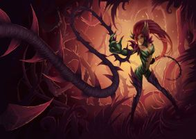 Zyra (League of Legends - LOL) by Screwy-Soul