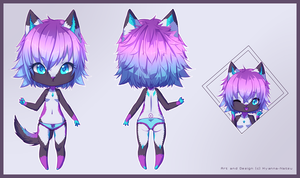 .: Custom Adopt - K-pop Wolf :. by Chewy-Adopts