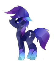 Star Note crystal pony by MusicFireWind