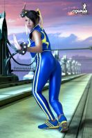 Chun Li tracksuit with Mea 2 by cosplayerotica