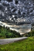 Road to nowhere HDR by xMAXIx