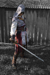 Ezio Auditore da Firenze - costume preview #3 by kisusie