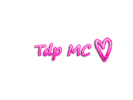 Texto png Tdp MC by Luuchi123