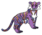 TIGER FAKEMON FOR SALE by BrokenLullaby200