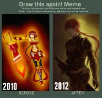 Draw this again meme- Freya by jaoosa