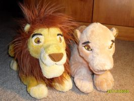 WDW Mufasa and Sarabi by Nostalgic90s