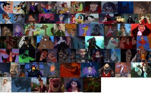 Disney Villains by brazilianferalcat
