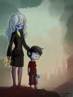 Forgive Me - Ice Queen + Marshall Lee by uuber