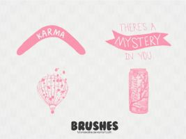 Brushes variados! by tutorialesiiine