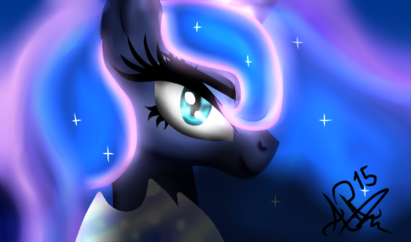 MLP Nigthmare Moon ( I am a nightmare) by aresmirl15