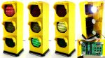 Fully-Functional LEGO Traffic Signal Lamp by VonBrunk