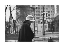 Lady in the Hat by panfoto
