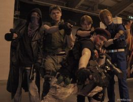 Resident Evil Group by alinthea