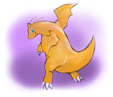 Charger the Dragonite by animalstomp