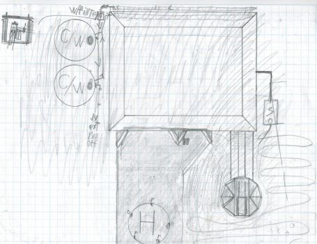 A two person bunker with torrent and M.C.landing. by Sir-Well-Borne